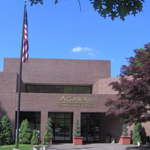 Agawam Corp Center Front