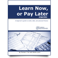 Financial education guide cover. Click to download full document.