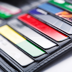 A wallet full of credit cards. Click for articles and videos about credit and credit cards.