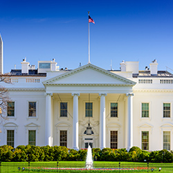 Image of the White House. Click for articles and videos about government and regulations.