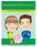Children's financial fun guide cover. Click to download full document.