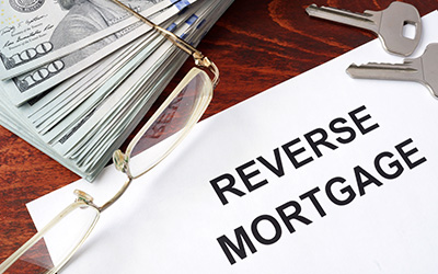 Image of a reverse mortgage contract.