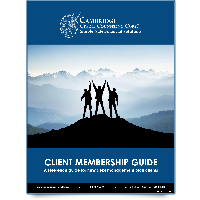 image of our client membership guide. click to download.