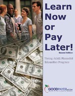 Financial literacy young adult guide cover. Click to download full document.
