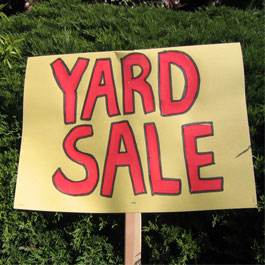 Watch our video about how to have a successful yard sale.