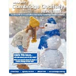 Download the latest Cambridge newsletter
